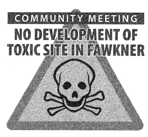 No Development Of Toxic SIte In Fawkner1