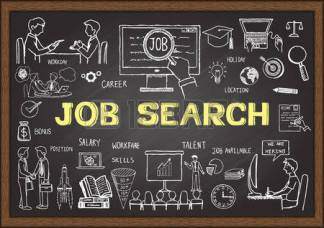 43901962-doodle-about-job-search-on-chalkboard