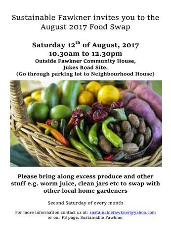 fawkner food swap august12-1